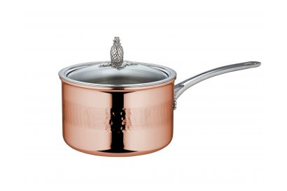 RUFFONI 18CM/2.8L Covered Copper Saucepan (Made In Italy) (1pc)