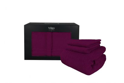 [Chinese New Year] Casablanca - Vossen Calypso Feeling Towel Gift Box Set (Grape) (1 set)