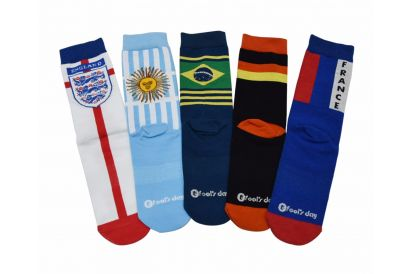[Pre-order] Fools Day Soccer Fans Special Socks (1 pair)