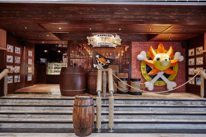 [KLOOK] One Piece Restaurant Hong Kong - Chopper Tea Set for 2 Persons (1 set)
