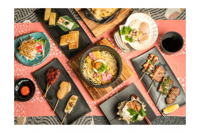 YAKIMON Chef Omakase 8-Course Set Dinner (1 person)