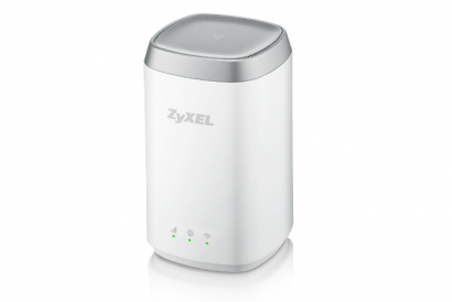 ZyXEL LTE4506 300M 4G LTE-A HomeSpot Router (1pc)