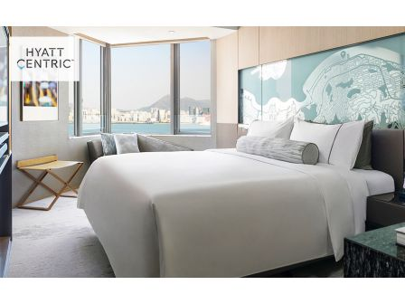 1 night accommodation and F&B package at Hyatt Centric Victoria Harbour