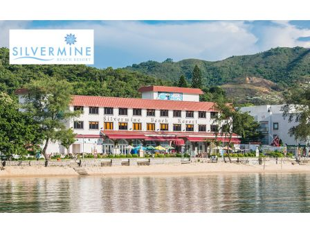 1 night accommodation package at Silver Mine Beach Resort