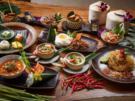 'Taste of Thai' Set Lunch at Saffron restaurant of Banyan Tree Macau